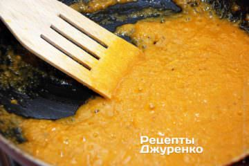 Приготовить овощной соус
