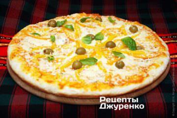 Фото рецепта вегетарианская пицца