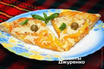 Поїсти смачну піцу варто поки вона гаряча