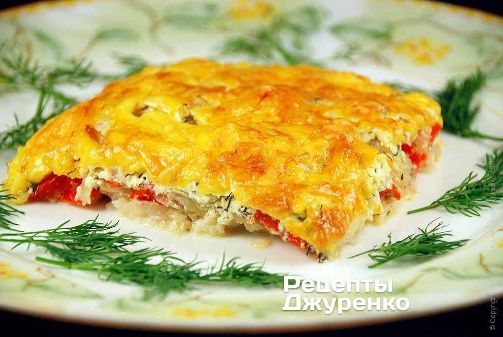 Рыба с сыром – запеченное филе судака