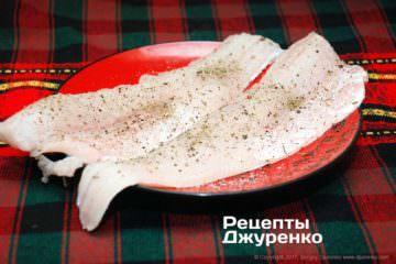 Зрізати філе риби