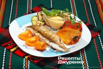 Фото рецепта жареный судак