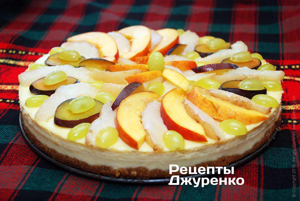 Фото готового рецепту чізкейк в домашніх умовах