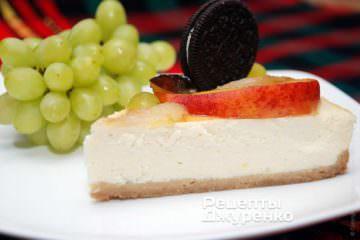 Фото рецепта чізкейк (cheesecake)