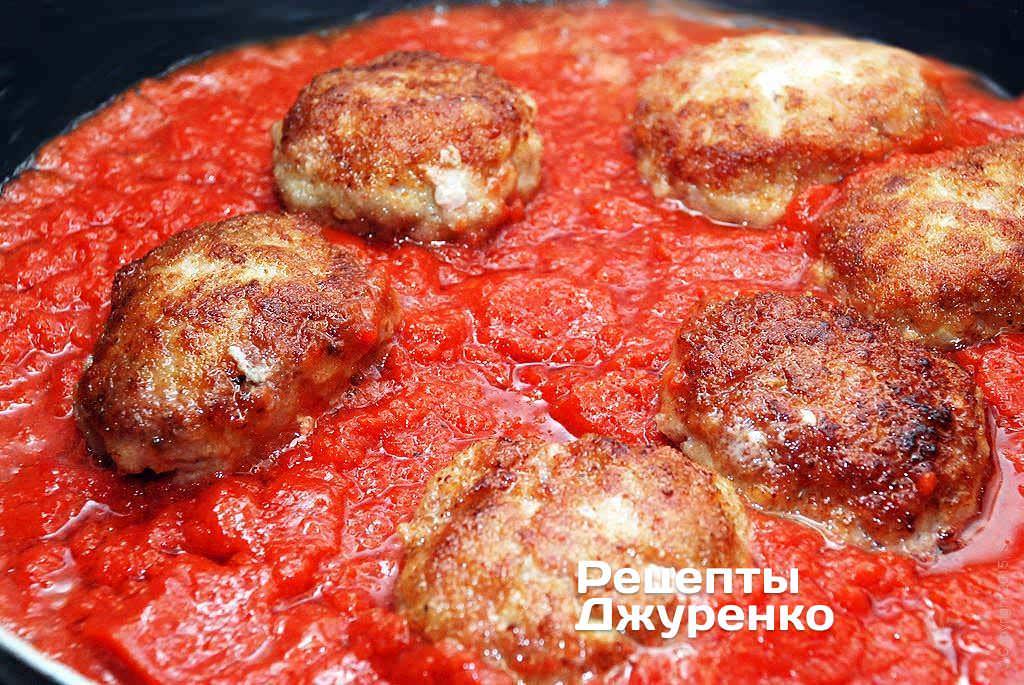 Как сделать томатные котлеты 39
