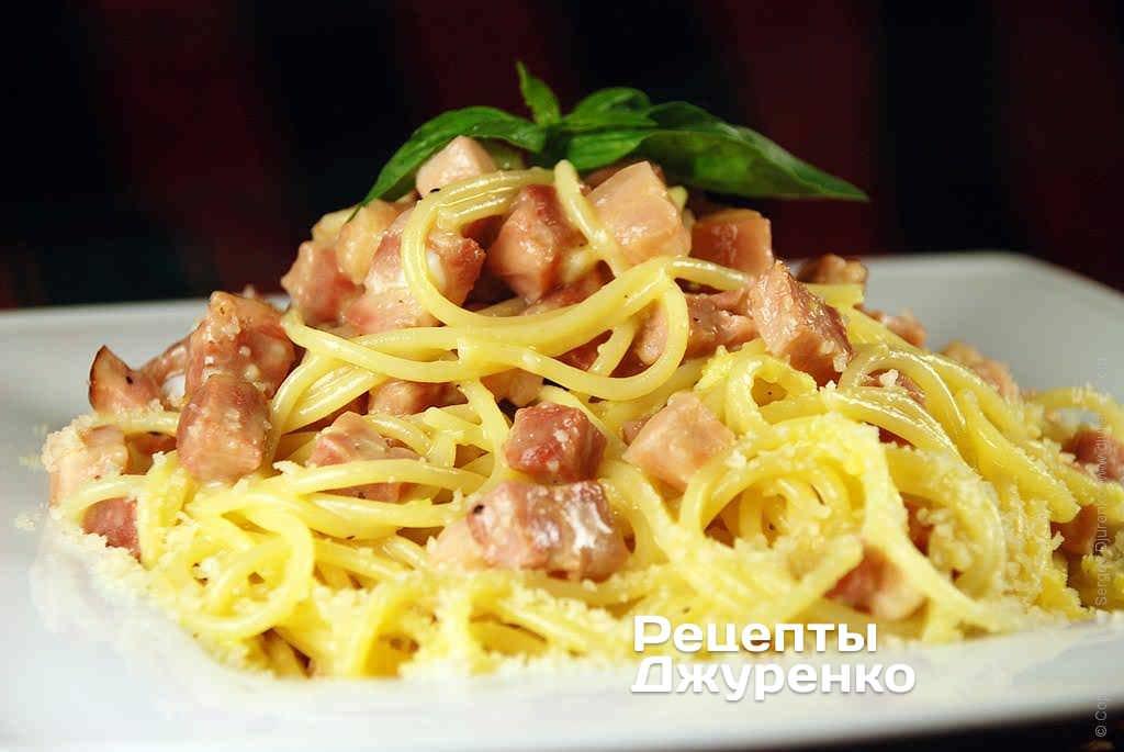 Соус для спагетти карбонар