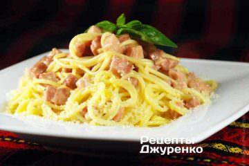 Фото к рецепту: паста карбонара