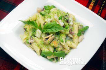 Фото рецепта паста с морепродуктами