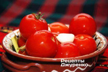 Фото до рецепту: квашені помідори