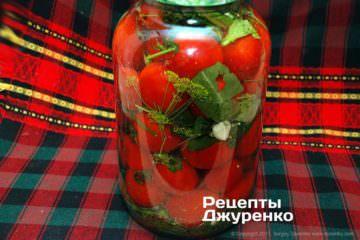 поставити помідори кваситися