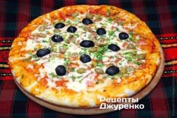 піца з оливками