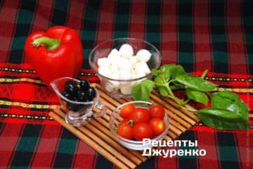 овощи для закуски