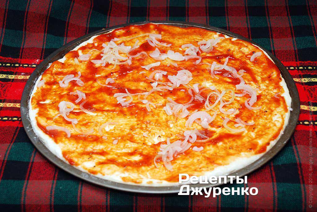 Рецепт рыбной пиццы