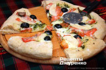 піцу розрізати