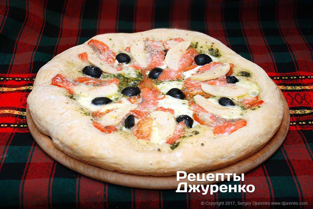 біла піца фото рецепту
