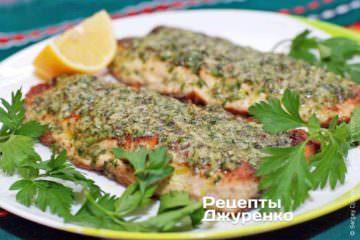 Фото до рецепту: скумбрія з сиром запечена