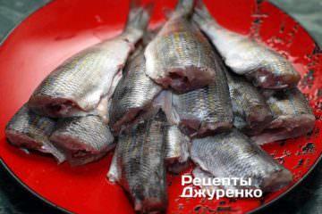 Почистить рибу