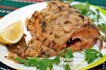 Фото рецепта форель смажена по-бергамськи