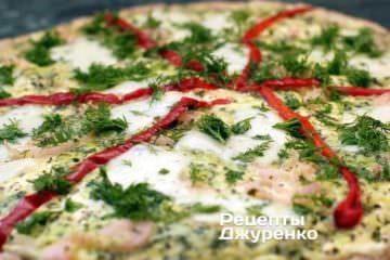 Піца з сиром