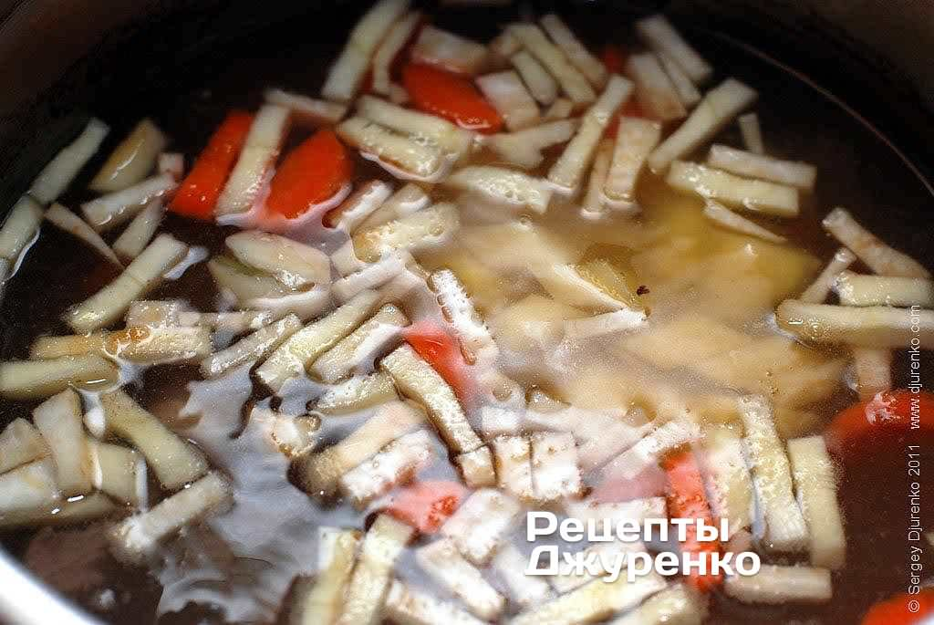 Шаг 4: Варить суп в течение часа