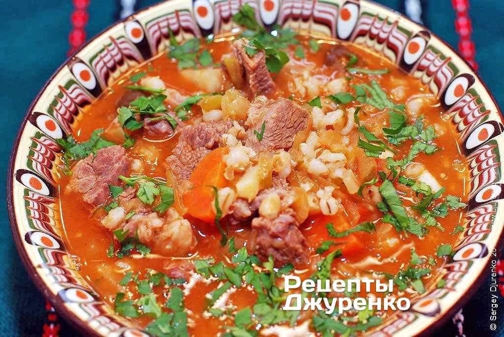 Рецепт блюда из перловки с фото