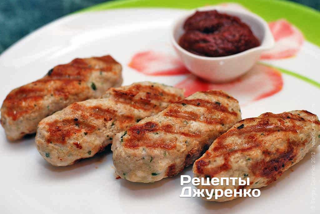 Кебаб зі свинини з сиром