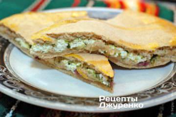 Фото рецепта фокачча с сыром