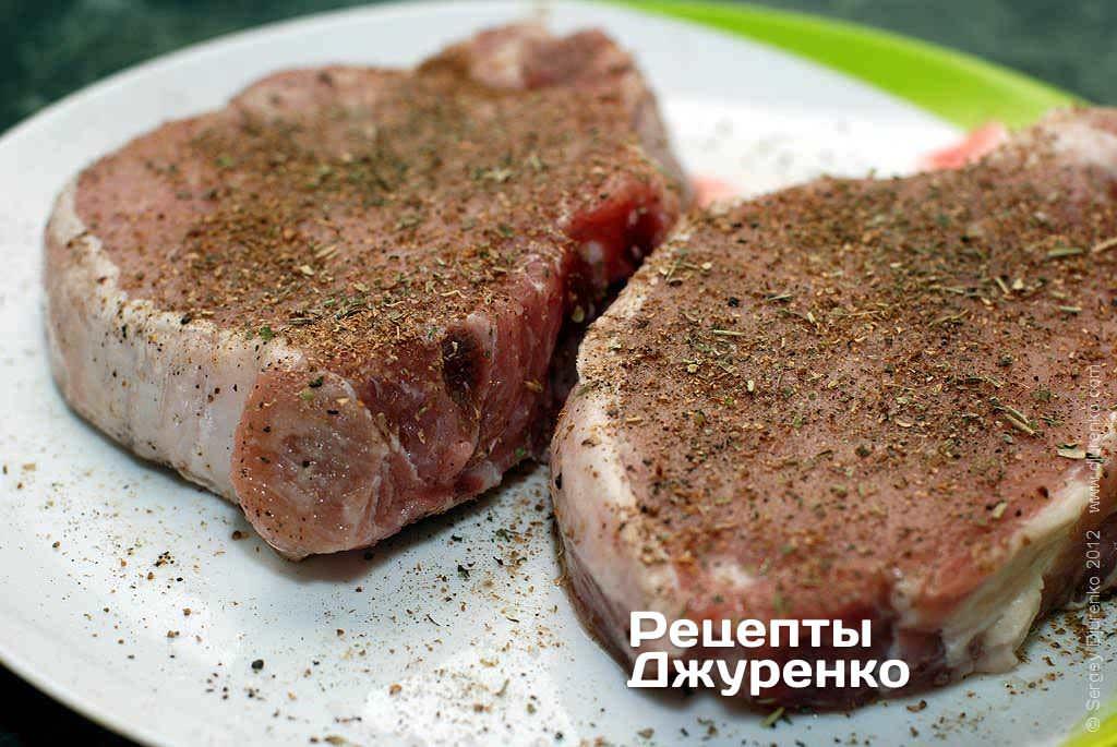 рецепт отбивных на косточке из свинины на мангале