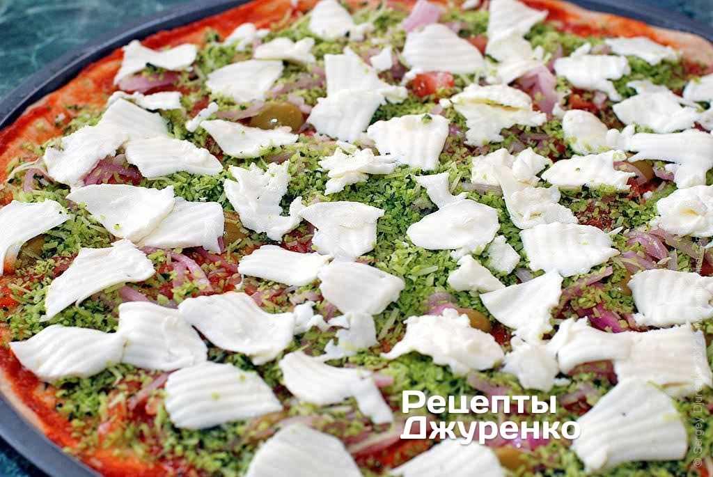 Моцарелла для пиццы как использовать
