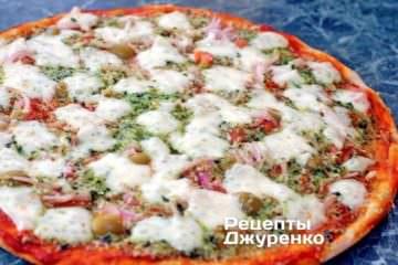 Піца з моцарелою