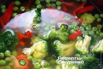 Добавить в суп брокколи