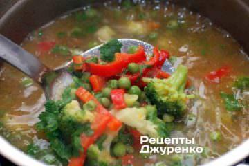 Добавить в суп пюре