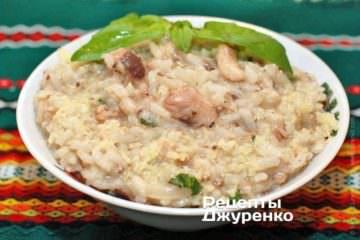 Фото рецепта рис з рибними консервами