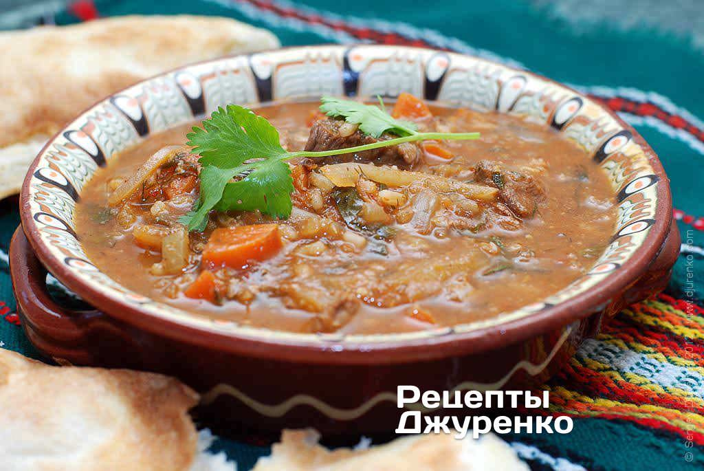 Как к правильно приготовить суп харчо