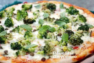 Фото рецепта пицца с брокколи