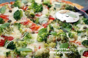 Разрезать пиццу