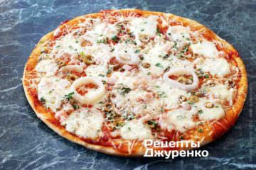 Піца з кальмарами