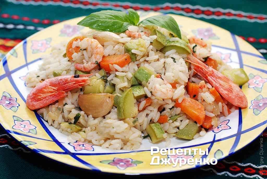 Фото готового рецепта кабачок с рисом в домашних условиях