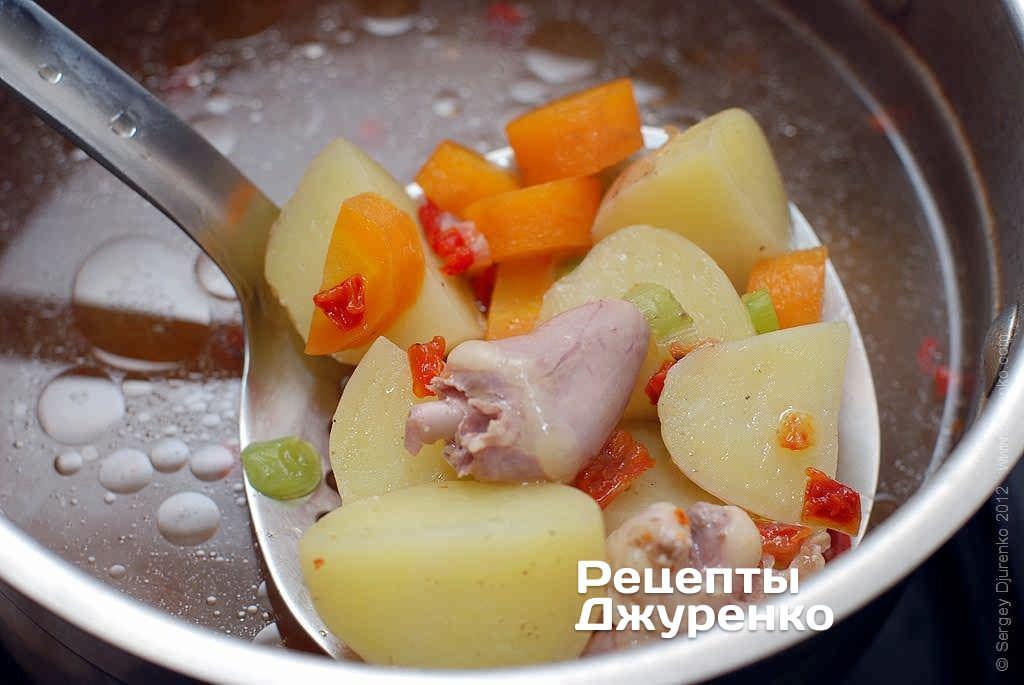 как приготовить суп из потрошка