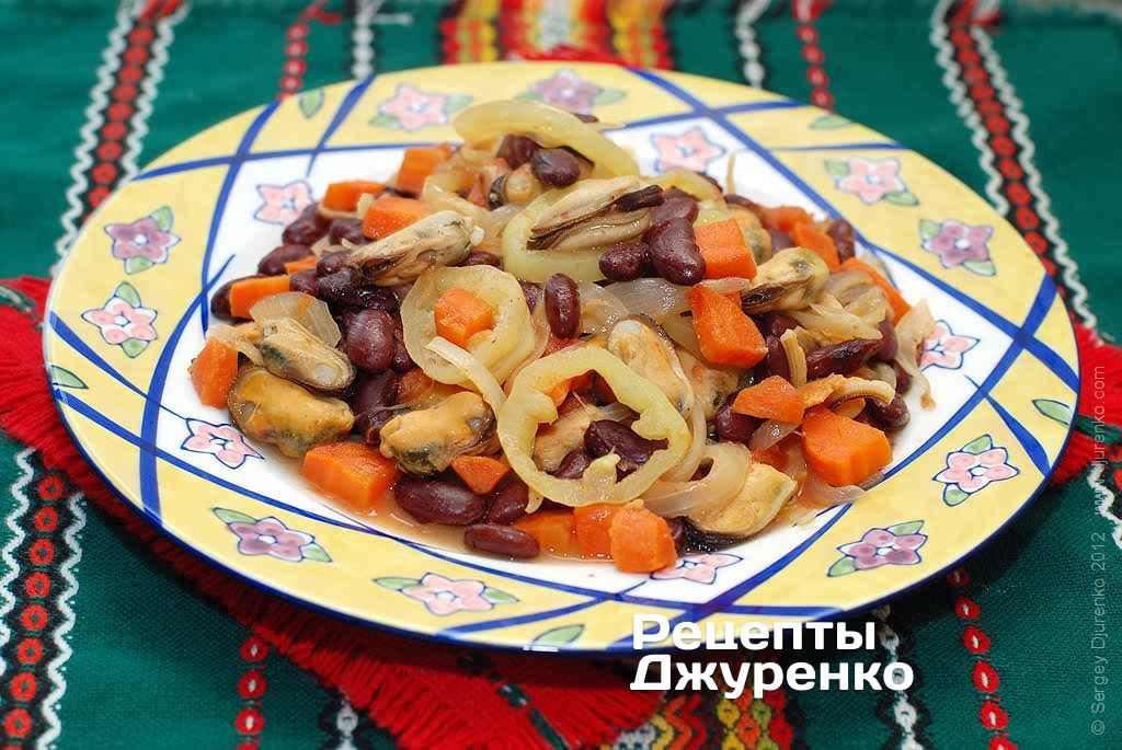 салат з морепродуктів фото рецепту