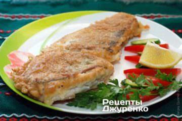 Фото до рецепту: риба в клярі