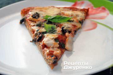 Піца з морепродуктами - домашня піца з морським коктейлем