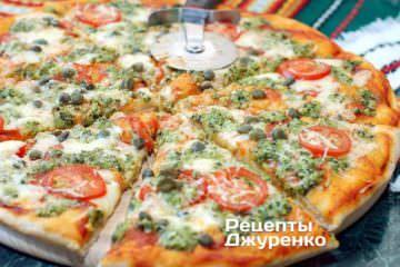 Розрізати піцу