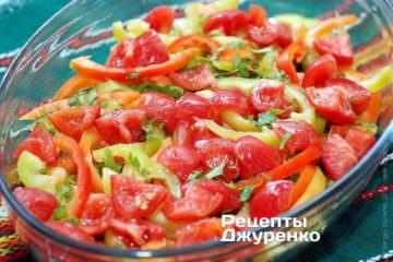 викласти помідори