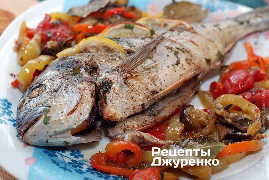 риба з овочами фото рецепту