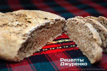Фото рецепта ржаной хлеб