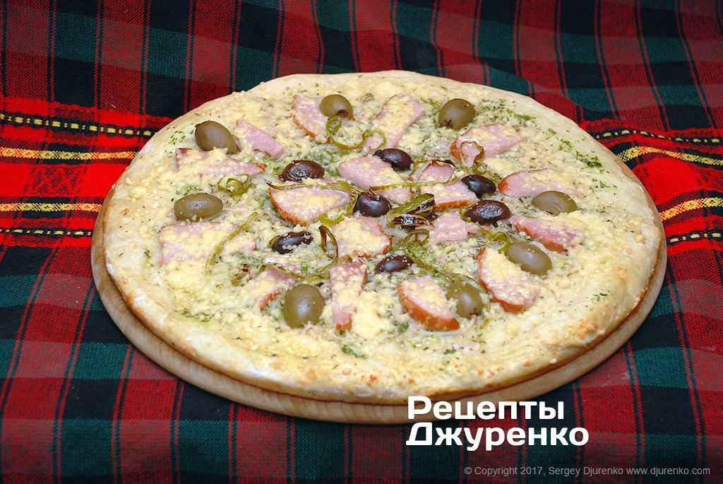 піца без помідорів фото рецепту