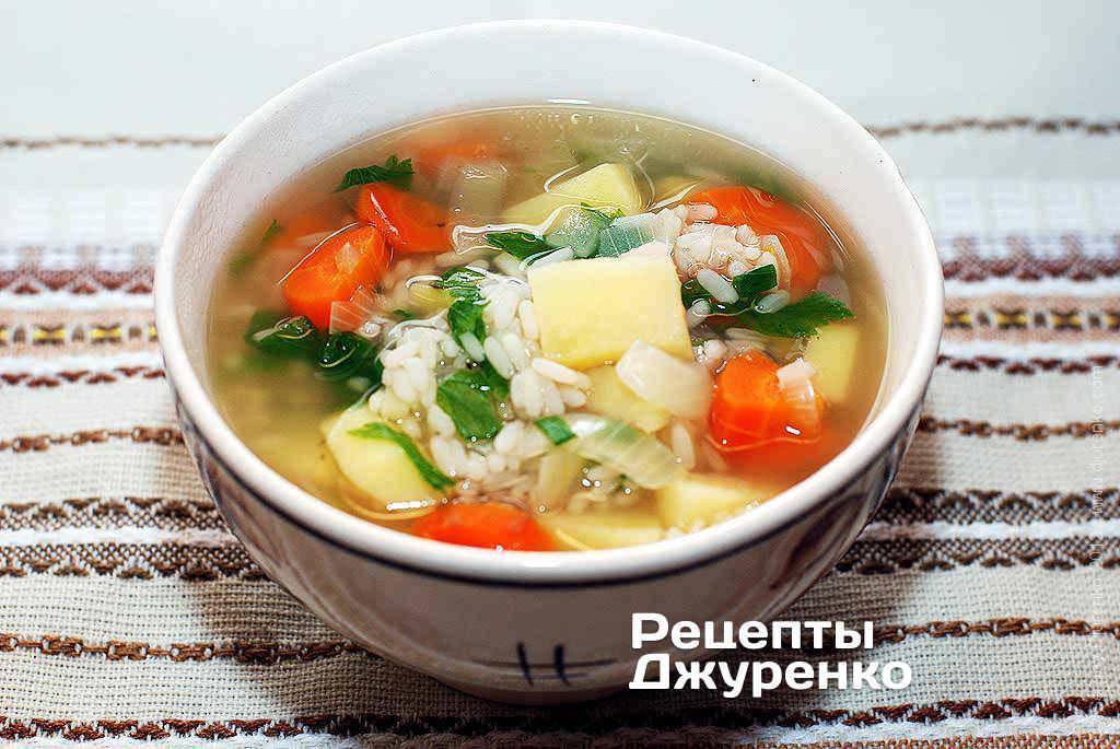 рисовый суп в мультиварке рецепты с фото