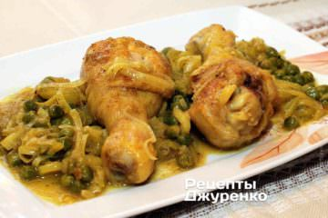 Фото рецепта куриные ножки в соусе