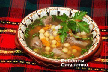 Суп с нутом